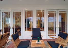 French Patio Doors With Built In Blinds by Acri Windows Patio And Entry Doors