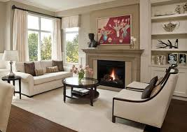 Incredible Decorating Ideas For Living Room With Fireplace 23