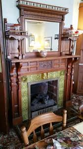 Sutherland House Victorian Bed Breakfast Cozy Fireplace In Dining Room