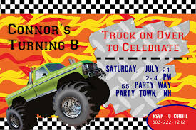 Monster Truck Birthday Invitations | Best Party Ideas Birthday Monster Party Invitations Free Stephenanuno Hot Wheels Invitation Kjpaperiecom Baby Boy Pinterest Cstruction With Printable Truck Templates Monster Birthday Party Invitations Choice Image Beautiful Adornment Trucks Accsories And Boy Childs Set Of 10 Monster Jam Trucks Birthday Party Supplies Pack 8 Invitations