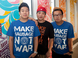 Seoul Sausage Co. Brings Korean Flavor To West LA | Daily Bruin Two Cities Girls The Great Food Truck Race Comes To Atlanta Season 9 Winner Went From Worst First Shangrila Category Ding Pulse Cheese Twins Talk Strategy Video 4 Meet The Teams Takes On Wild West In Return Of Summer Amazoncom 7 Amazon Digital Promo Mojo Speeds First Place Network Gossip 6 Winner Crowned Aloha Plate Truck Arrives On Oahu Honolu