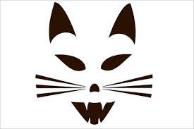 Minion Pumpkin Stencil Printable by 18 Cat Pumpkin Carving Stencils For A Howling Good Time This
