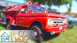 Ford Pickup Fire Truck For Kids Super Rare 1961 Play On And In ...