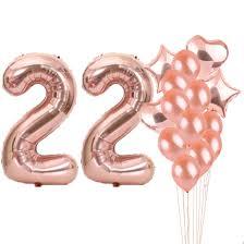 100 Sweet 22 Amazoncom Th Birthday Decorations Party Suppliesth Birthday
