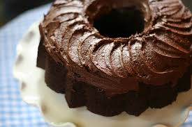 Root Beer Bundt Cake with Root Beer Fudge Frosting Playing House
