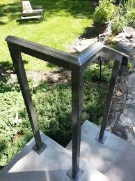 Railings Windsor Ontario | Sunset Metal Fab Inc. | Handrail ... Outdoor Wrought Iron Stair Railings Fine The Cheapest Exterior Handrail Moneysaving Ideas Youtube Decorations Modern Indoor Railing Kits Systems For Your Steel Cable Railing Is A Good Traditional Modern Mix Glass Railings Exterior Wooden Cap Glass 100_4199jpg 23041728 Pinterest Iron Stairs Amusing Wrought Handrails Fascangwughtiron Outside Metal Staircase Outdoor Home Insight How To Install Traditional Builddirect Porch Hgtv