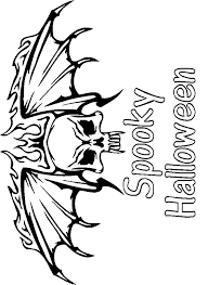 Halloween Scary Coloring Pages