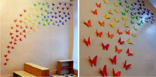 You Can Make The Colorful Butterflies For Various Occasions Of Celebration In Order To Decorate Your House And Also Frame