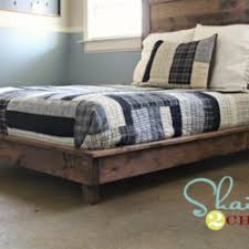 artsy bedroom how to build your own platform bed frame woodworking