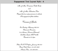 Engagement Ceromany Layout Style 6