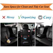 Car Seat Organizer, PU Leather Multifunctional Car Back Seat ... Backseat Car Organizer For Kids Save Your Seats From Little Feet This Pickup Truck Gear Creates A Truly Mobile Office Hangpro Premium Seat Back For Jaco Superior Products Semi Organizer Fabulous Cargo Desk Template Best Truck Seat Organizers Interior Amazoncom Coat Hook Purse Bag End 12162018 938 Am Mudriver Mud River The Black Boyt Harness Kick Mats Extra Large Pocket Protector Llbean Fishing Universal Organiser Storage Pouch Travel Kid Trucksuv Gamebird Hunts Store
