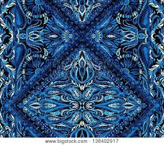 Seamless Boho Pattern With Intricate Gypsy Detailes