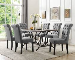 Dining Room Chairs Walmart Canada by Soho 7 Piece Dining Set Table 6 Chairs Grey Walmart Canada