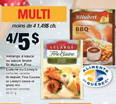 cuisine st hubert provigo st hubert cuisine or loney s sauce or gravy mix