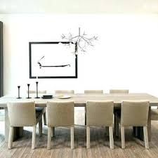 Contemporary Dining Room Furniture Decorating Lighting Chandeliers Ideas