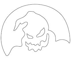 Disney Pumpkin Carving Patterns Villains by Nightmare Before Christmas Pumpkin Stencils Nightmare Before