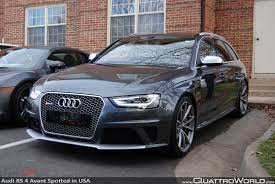 BREAKING Audi RS 4 Avant spotted in the USA
