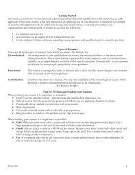 Resume Objective Entry Level