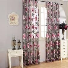 US 2678 28 OFFAbbiemao Pastoral Style Jacquard Shading Curtain Three Pattern For Living Room Balcony Bedroom Cotton Linen Curtain Home Decorin