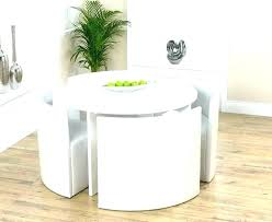 White Round Table And Chairs Chair Set Small Dining For