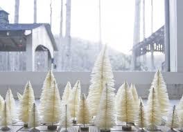 DIY White Christmas Trees