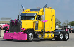 100 Icc Trucking Yellowpeterbilt For A Cure