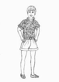 Barbie And Ken Toy Story Coloring Pages