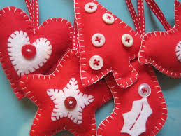 make your own felt decorations class wednesday 12th