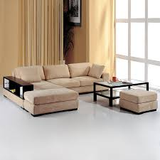 Shop Beverly Hills Furniture Telus Beige Sectional at Lowes