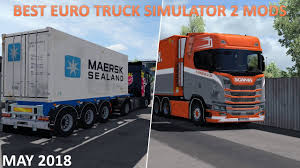 Top 10 Best Mods For Euro Truck Simulator 2 - May 2018 - YouTube