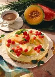 melonen frischkäse torte diabetiker rezept lecker