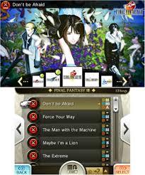 Final Fantasy Theatrhythm Curtain Call Best Characters by Chcse U0027s Blog Theatrhythm Final Fantasy Curtain Call 3ds