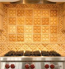 Accent Tiles For Kitchen Backsplash Belmont Umber Yellow Decorative Tiles Artisan Kitchen