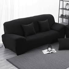 sofa cover black cheap centerfieldbar com