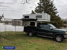 100 Pop Up Truck Camper Vanlife In A Popup Truck Camper Next To The Lake
