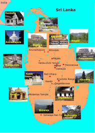Sri Lanka Map 172 Kb