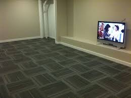 basement carpet tiles room area rugs the best method