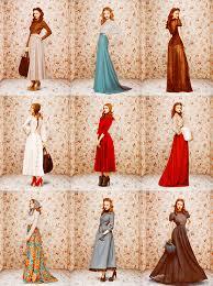 Ulyana Sergeenko Stunning Vintage Style Fashion Shoot