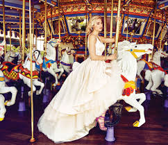 this disneyland photo shoot is pure wedding dress magic disney style