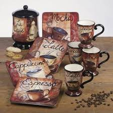 LOVE These Dishes Too Coffee DecorationsKitchen DecorationsCoffee Theme