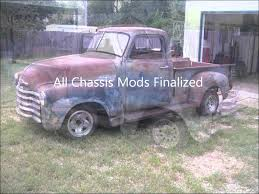 S10 Chassis Swap For 51 Chevy Truck: Tear Down And Mock Up 4-24-2012 ...