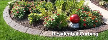 concrete patio appleton wi landscaping concrete curbing decorative edging in appleton