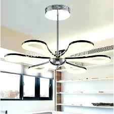 Inch Iron Leaf Lights Fan Living Room Dining Ceiling Light Rustic