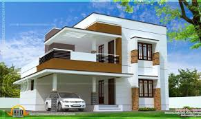 Genius Modern Simple House by Simple Modern Home Design Square Kerala Building Plans