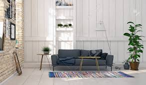 modern scandinavian style living room interior design