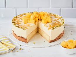 mango torte mit sahne und joghurt einfach selber machen
