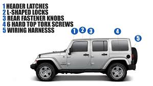 Remove The Hard Top On Jeep Wrangler | Faqs | Safford Of Winchester