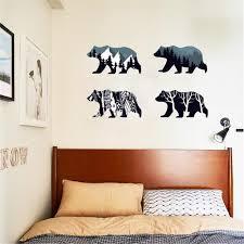 idfiaf gletscher eisbär poster 3d kunst view wandaufkleber für wohnzimmer removable home schälen und stick