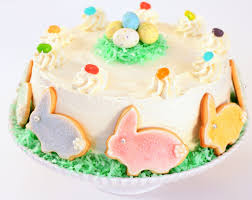 Tish Boyle Sweet Dreams Chocolate Easter Cake with Vanilla Malt