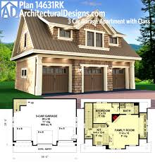 Simple Bungalow House Kits Placement by Smart Placement Garage Designs With Apartments Ideas Home Design